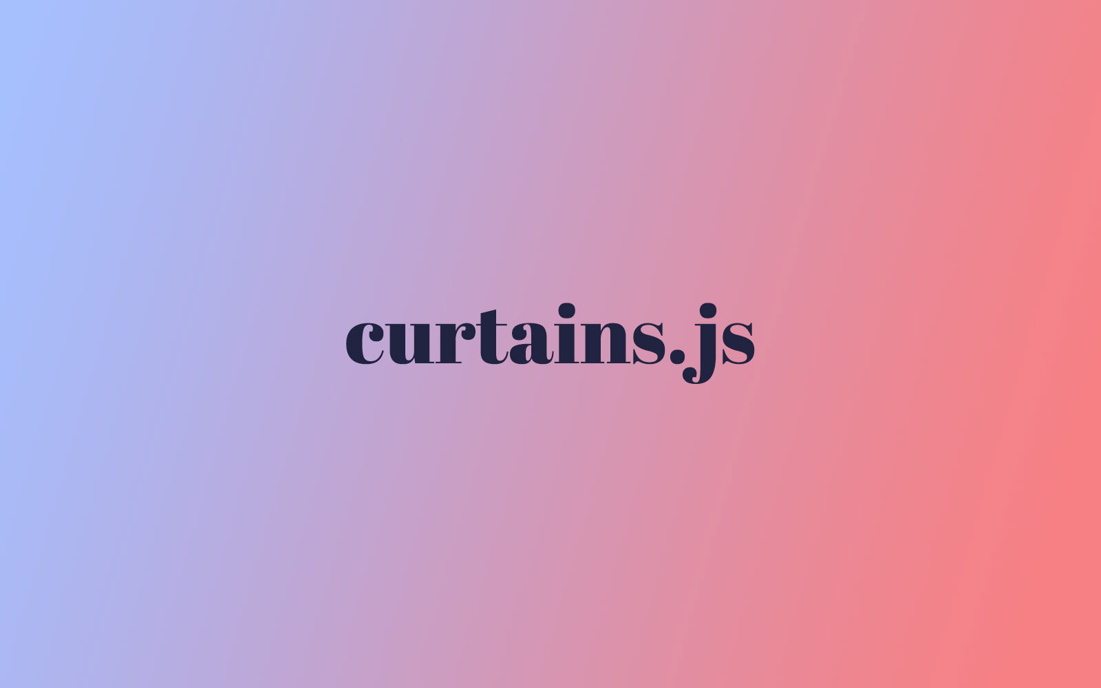 curtains js | Get Started